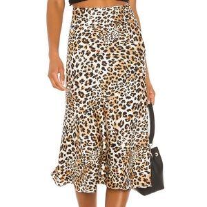 NWOT Majorelle Leopard Skirt